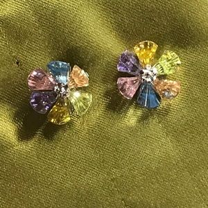 Beautiful multi colored earrings